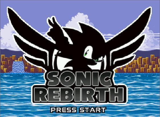 Sonic Rebirth Sr10