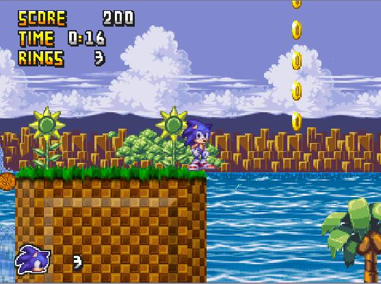 Sonic Rebirth Sr210