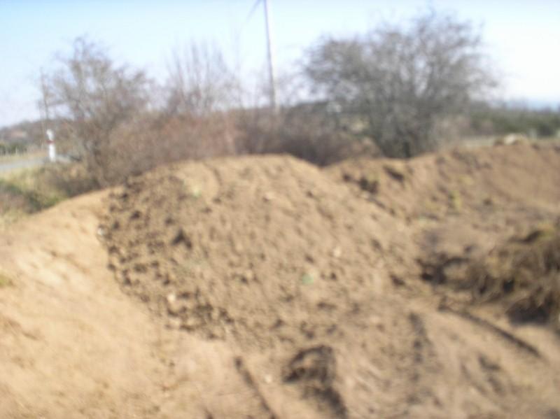 Nouveau terrain décapé P3240014
