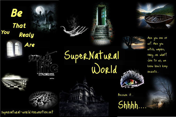 Supernatural - World