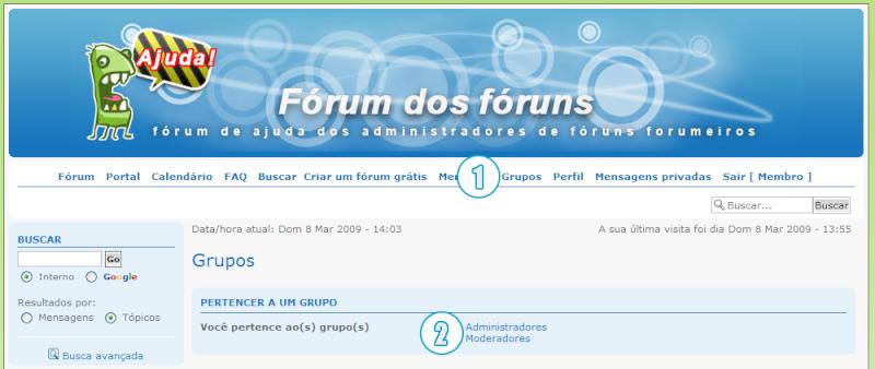 [FAQ] Criar e administrar os Grupos de usuários Grupos14