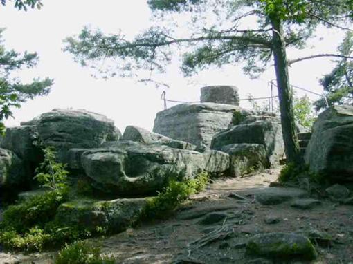 Le Mont Sainte-Odile (67) Rocher10