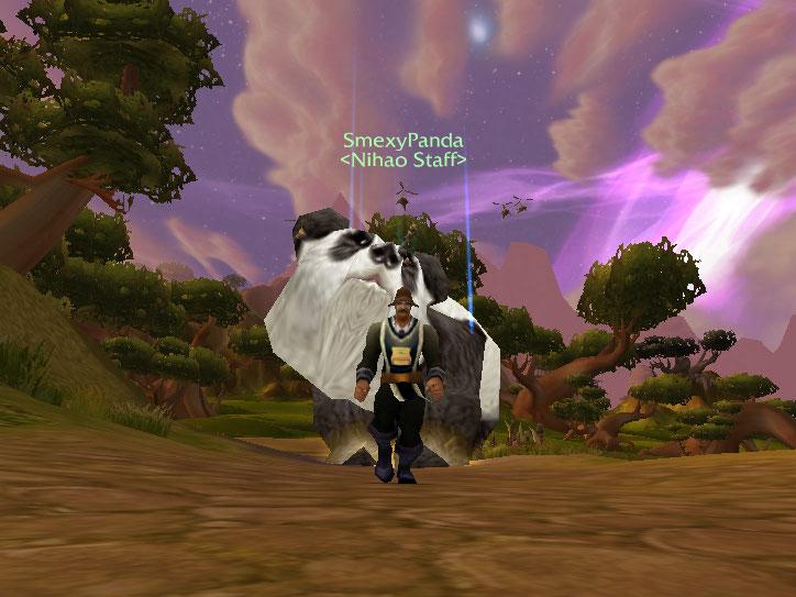 OMFG FLYING PANDAS!! Wowscr14