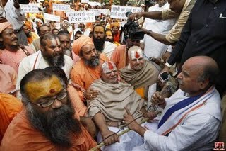Pictures of Hindu fundamentalists in India 310