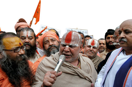 Pictures of Hindu fundamentalists in India 422-1410