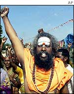 Pictures of Hindu fundamentalists in India 510