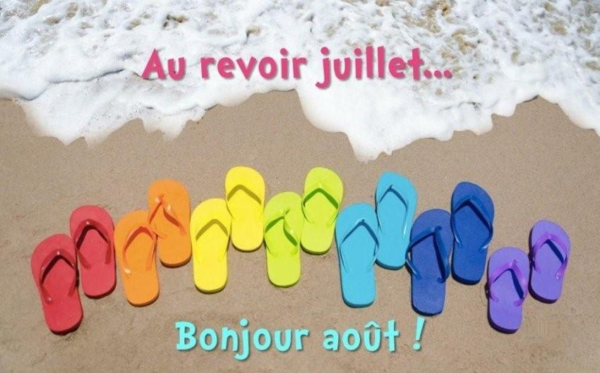Les bonjours et contacts jounaliers du Mois d' Août 2019 01_08_10