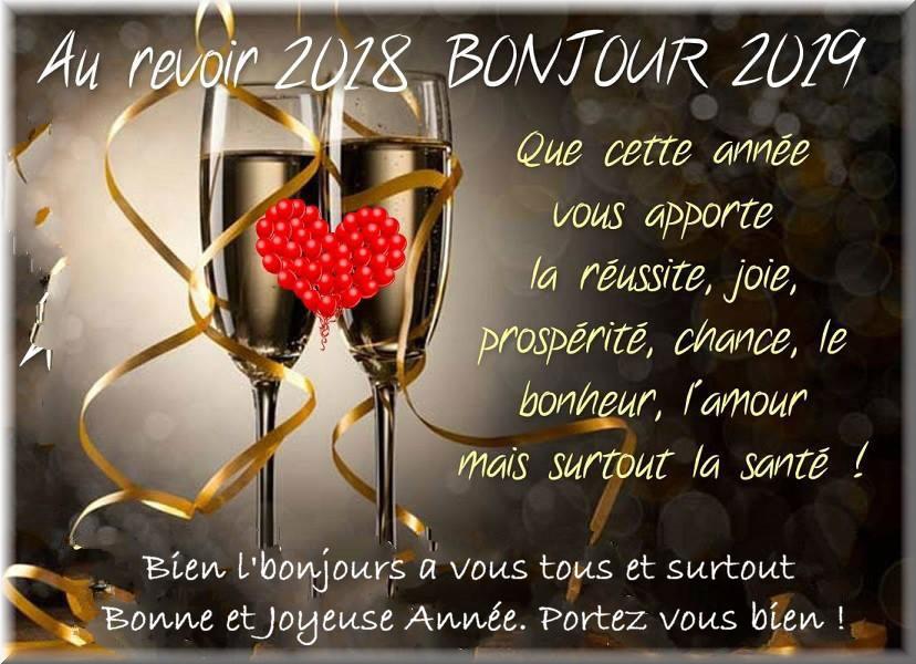 Les bonjours et contacts jounaliers du Mois de Janvier 2019 Bonne_10