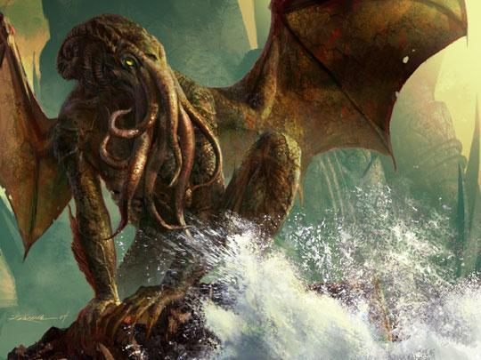 Monstres en images Cthulh10