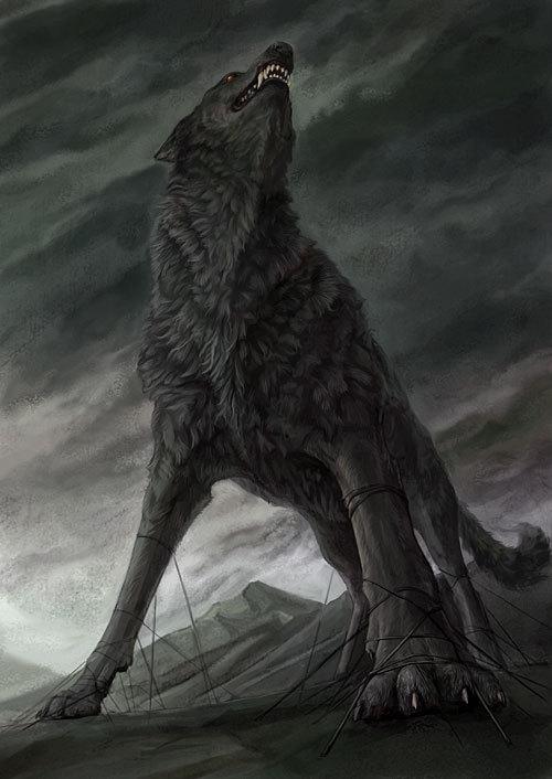 Monstres en images Fenrir10