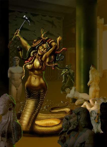 Monstres en images Gorgon10