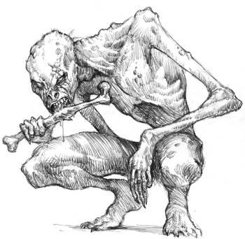 Monstres en images Goule10