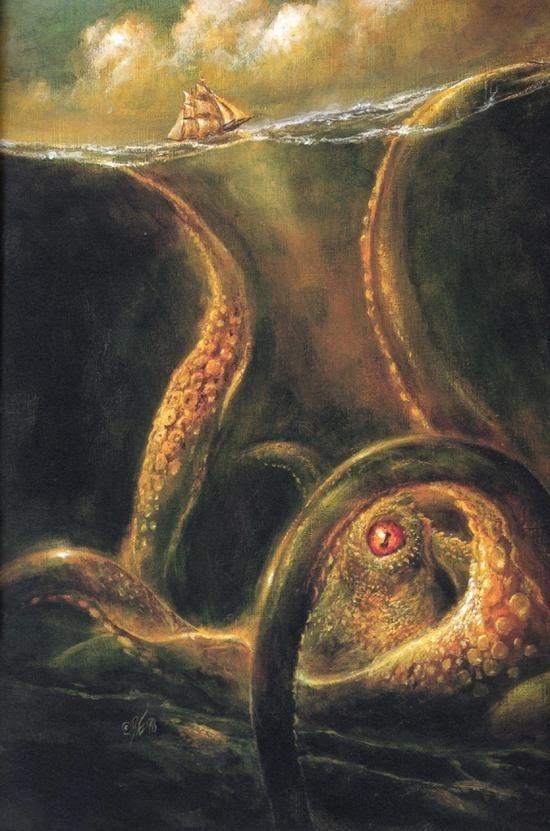 Monstres en images Kraken10