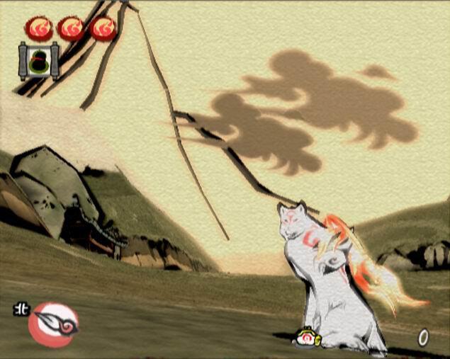 [IMAGES] Paysages et décors (jeux vidéos) Okami-10