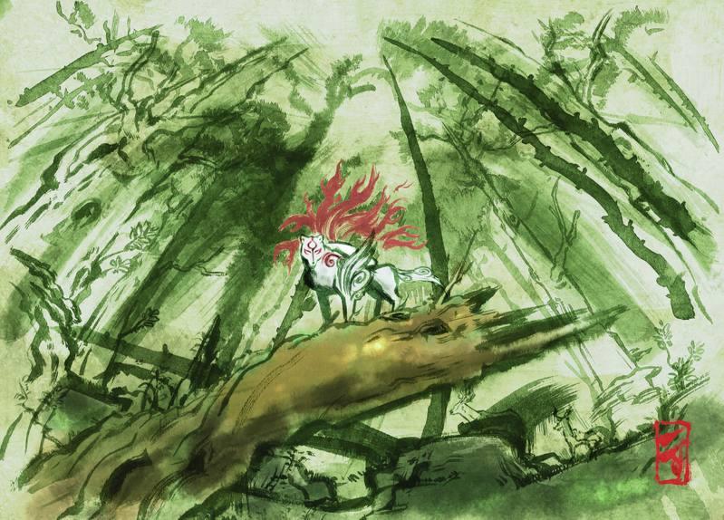 [IMAGES] Paysages et décors (jeux vidéos) Okami-11