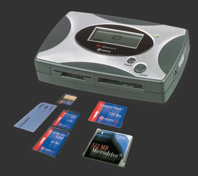 vends disque dur  usb pour décharger camera et appareil phot Memup10