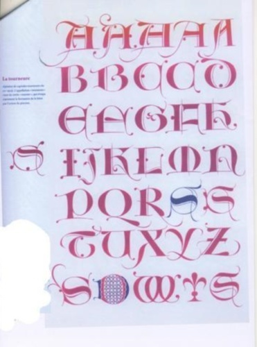 alphabet du 15eme siecle Textex11