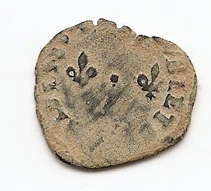 Dinero tournois de Enrique III de Polonia (1574-1589). Anv100