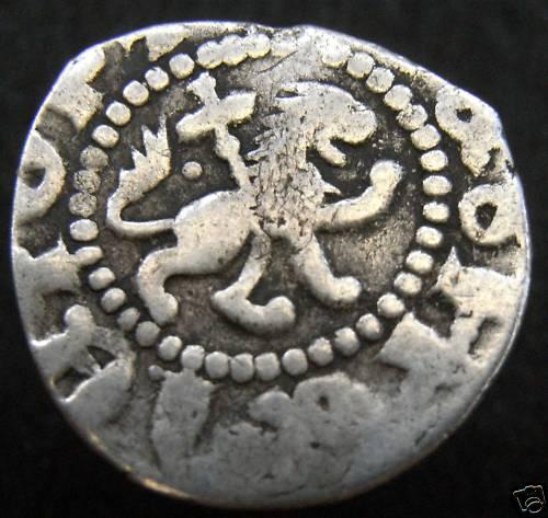 Dinero del Reino de Armenia, Levon III (1301-1308 d.C.) Anv125