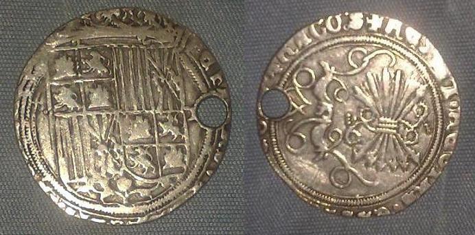 Real de los RR.CC. ceca Toledo. Anv126