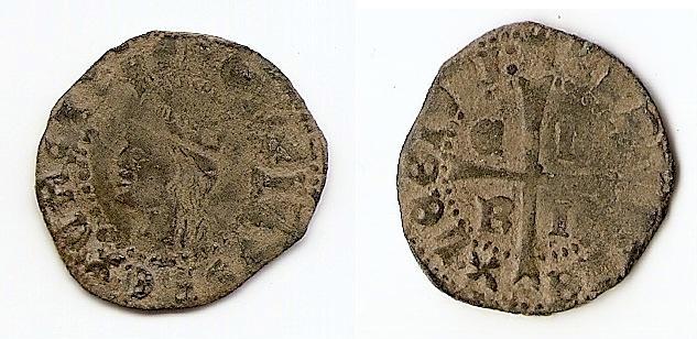 Cruzado de Enrique II, sin ceca. E12310