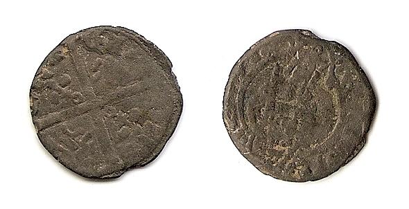 Hardi de vellón de Eduardo el Príncipe Negro (hijo de Eduardo III). Pergam16
