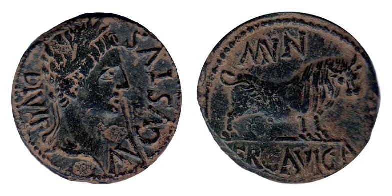 As de Ercavica, reinado de Augusto. Yj14