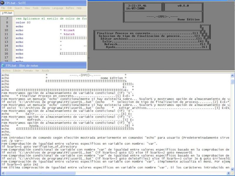 Programación Batch Logro10