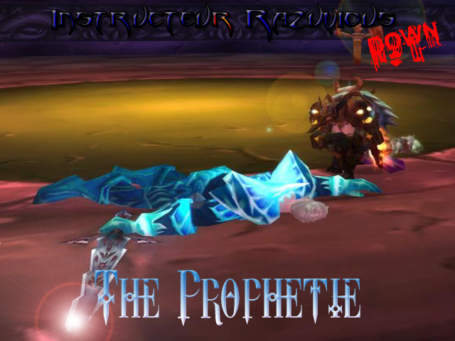 Forum de la guilde The Prophetie - Portail* Instru10