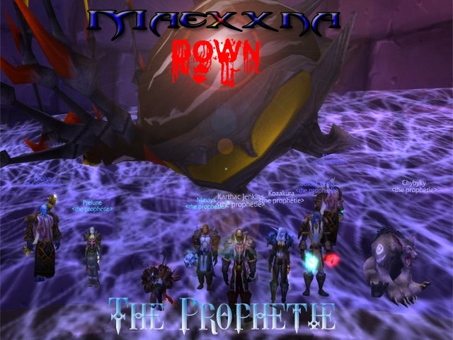 Forum de la guilde The Prophetie - Portail* Maexxn10