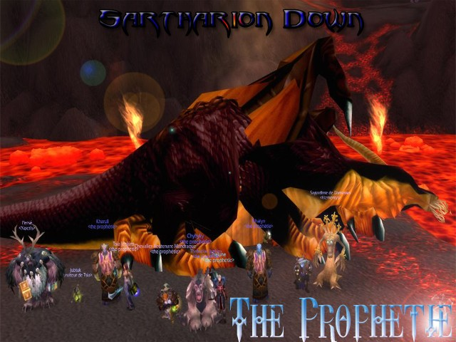 Forum de la guilde The Prophetie - Portail* Sartha11