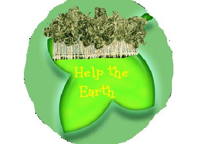 Help The Earth Buttons New11
