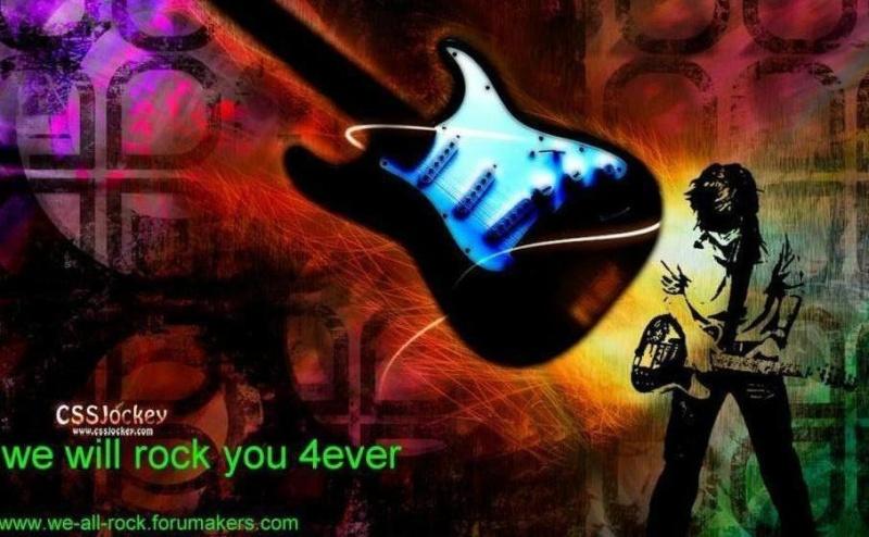 Rock music!