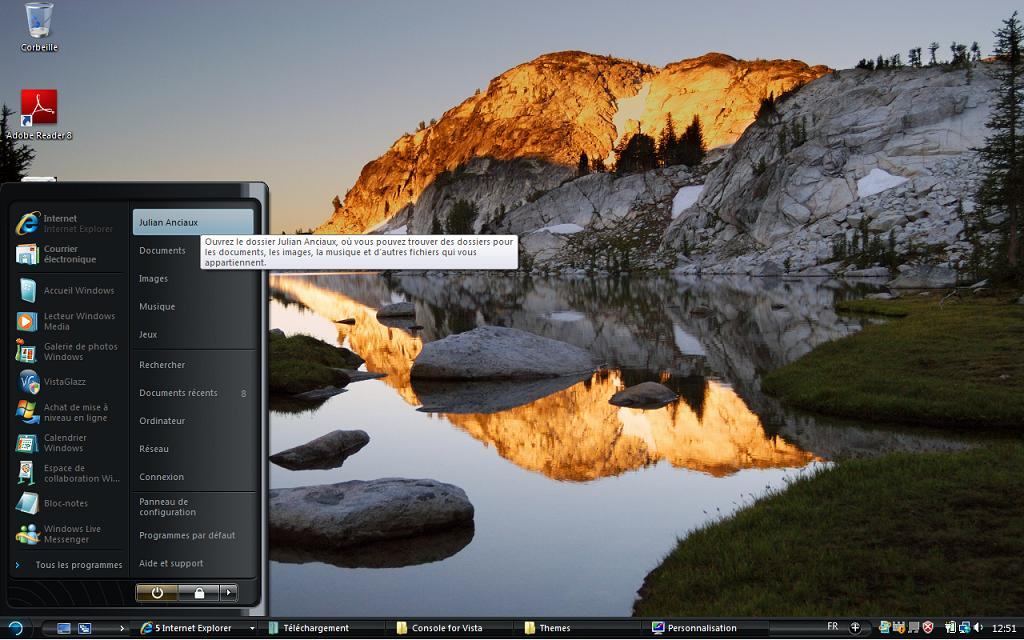 [THEME]: Concave Dark - Vista Port par Satukoro Screen11