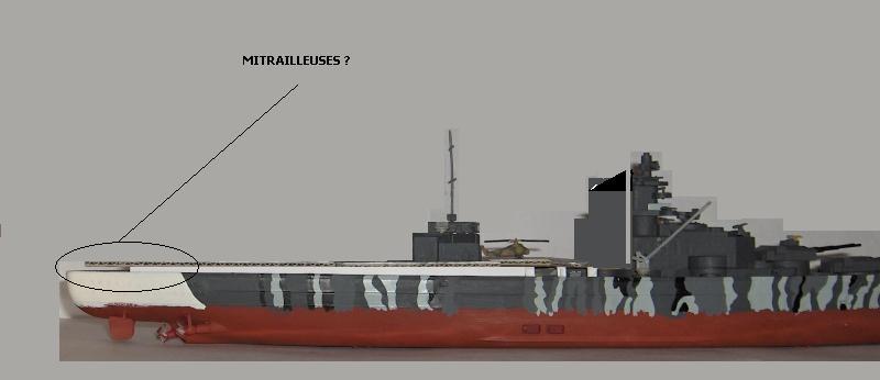 Conversion Tirpitz 1/570 en porte-hélico fictif - Page 2 Hpim0610