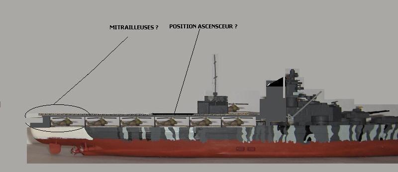 Conversion Tirpitz 1/570 en porte-hélico fictif - Page 2 Hpim0611