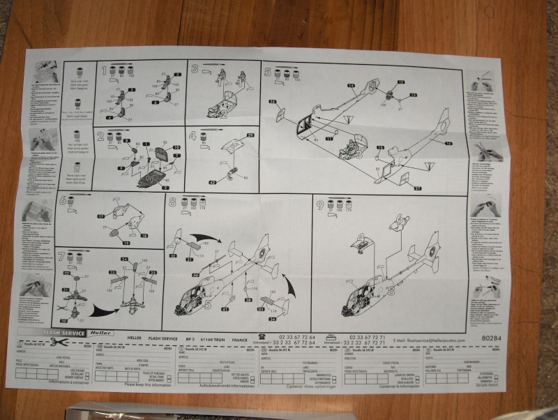 Gazelle SA 342M  1/72 HELLER Hpim0711