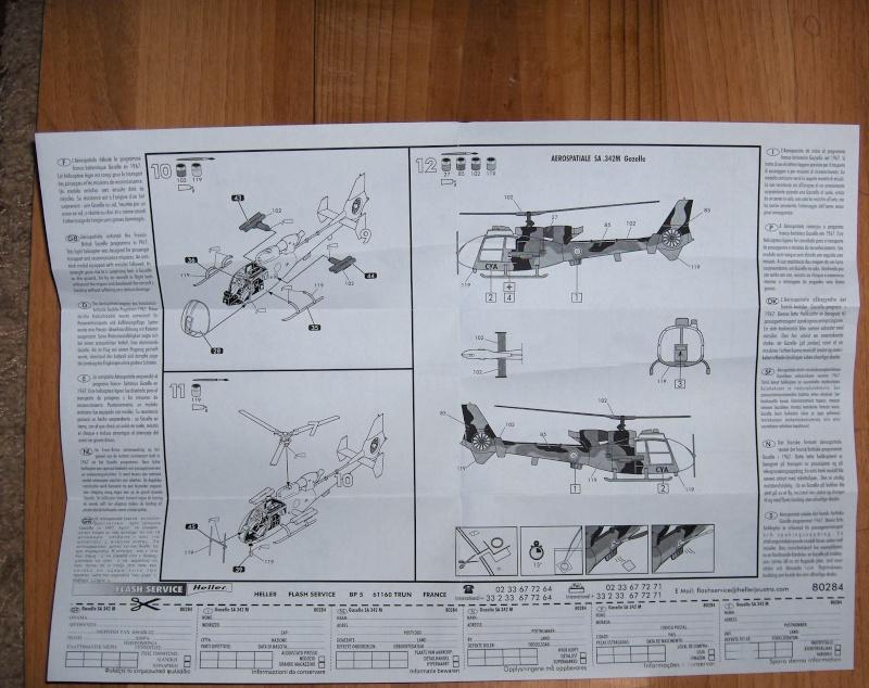 Gazelle SA 342M  1/72 HELLER Hpim0712