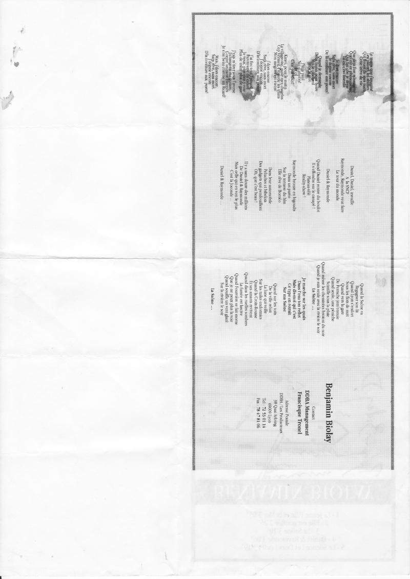 {les albums} les premiers opus Feuill10