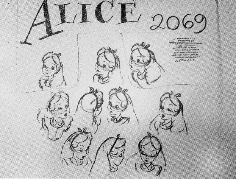 Alice au Pays des Merveilles [Walt Disney - 1951] - Page 6 Rossin13