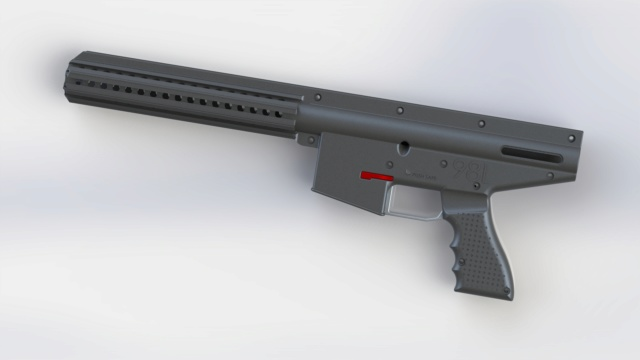 Corps de lanceur - Mod Impression 3D L98_cr10