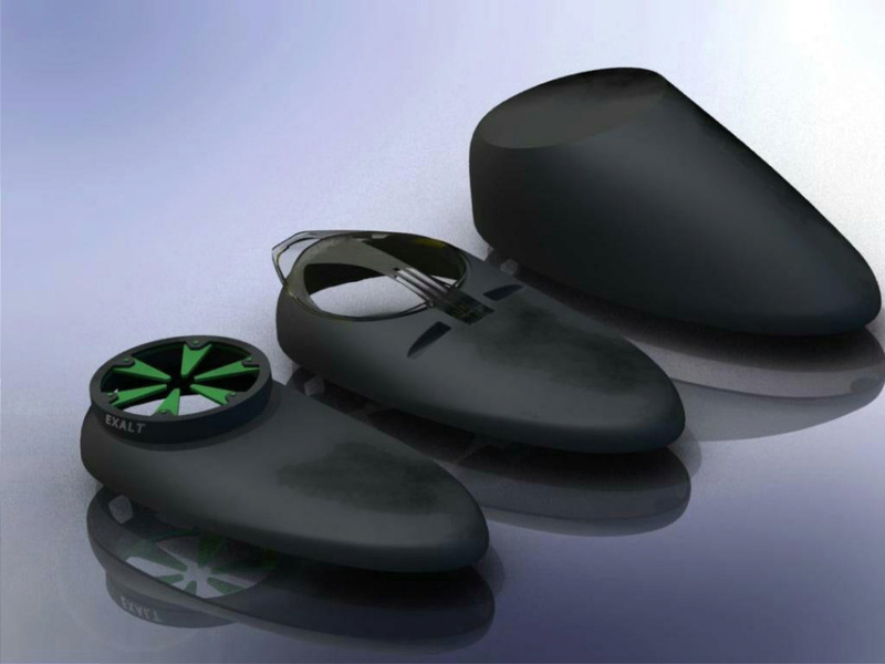 Loader Rotor - capot supérieur slim - impression 3D Large10