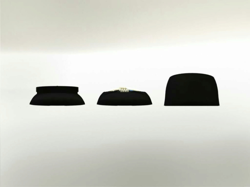 Loader Rotor - capot supérieur slim - impression 3D Large_10