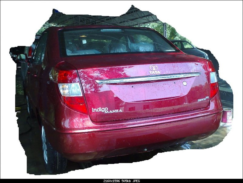 Clear pictures of Tata Indigo Manza before it launch Manza_11