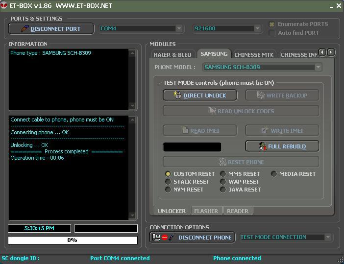 05/08/09 : ET-BoX v1.86 Released - Added Samsung vStyle SCH-B309, B189 + More... 1_8610