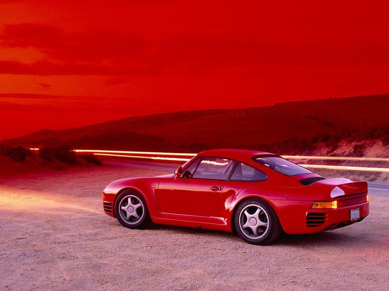 La 959 pour moi la Porsche de rêve : - Page 2 Redrac11
