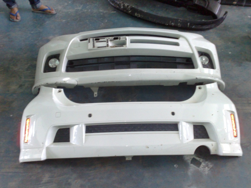OEM MYVI SE USE FRONT & REAR BUMPER 10112010