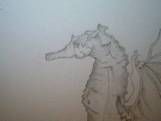 Strange Monster Drawing 2009-010