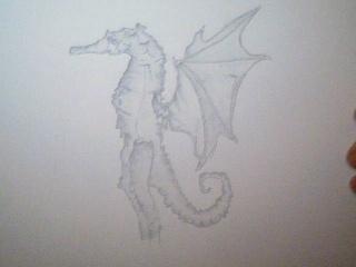 Strange Monster Drawing 2009-012