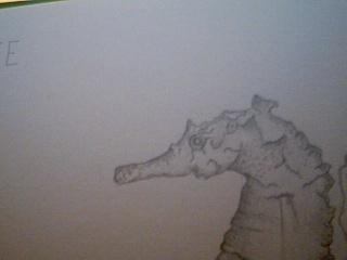 Strange Monster Drawing 2009-013